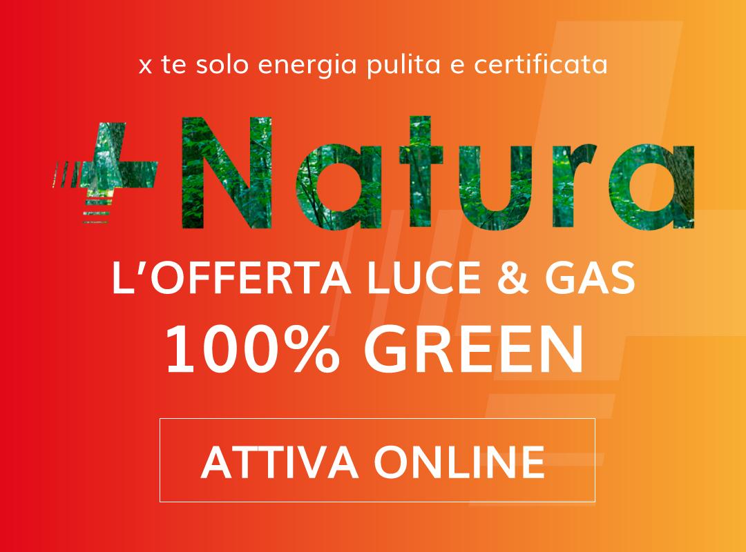 Offerta +Natura Luce & Gas
